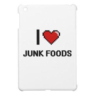 I Love Junk Foods Cover For The iPad Mini