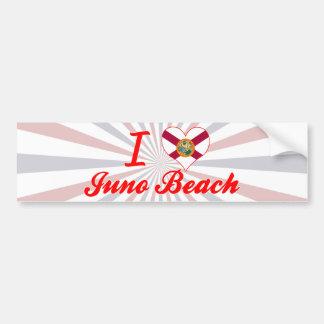 I Love Juno Beach, Florida Bumper Sticker