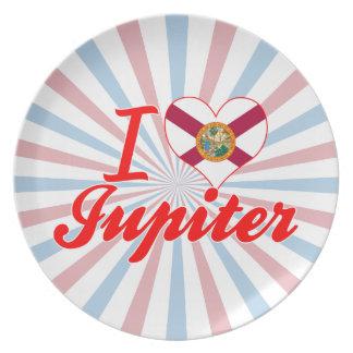 I Love Jupiter, Florida Dinner Plates