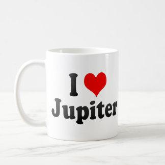 I Love Jupiter, United States Classic White Coffee Mug