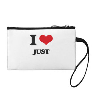 I Love Just Coin Purse