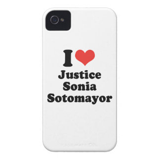I LOVE JUSTICE SONIA SOTOMAYOR - .png iPhone 4 Case-Mate Cases