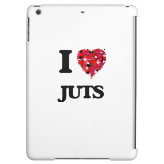 I Love Juts iPad Air Cases