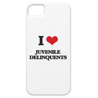I Love Juvenile Delinquents iPhone 5 Cover