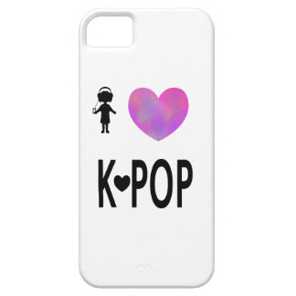 I love K-pop iPhone 5 Case