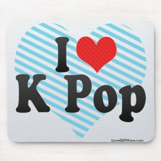 I Love K Pop Mousepad