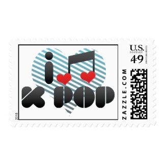 I Love K Pop Postage