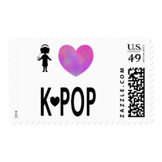 I love K-pop Postage