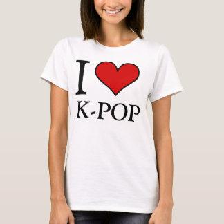 I Love K-Pop T-Shirt