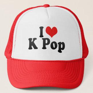 I Love K Pop Trucker Hat