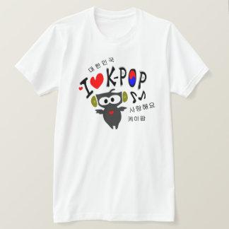 I love K-POP TXT OWL VECTOR Basic American Apparel T-Shirt