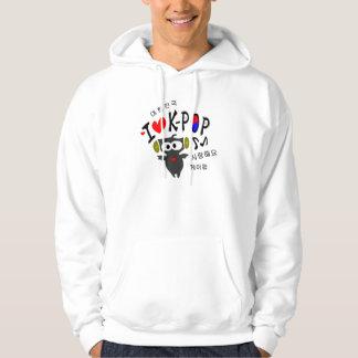 I love K-POP TXT OWL VECTOR Basic Hooded Sweatshir Hoodie