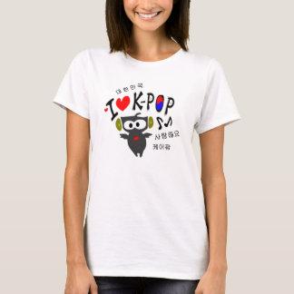 I love K-POP TXT OWL VECTOR Ladies Baby Doll (Fitt T-Shirt