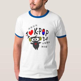 I love K-POP TXT OWL VECTOR Ringer T-Shirt