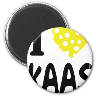 I love kaas icon 2 inch round magnet