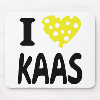 I love kaas icon mouse pad