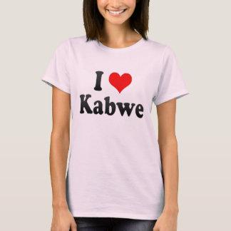 I Love Kabwe, Zambia T-Shirt