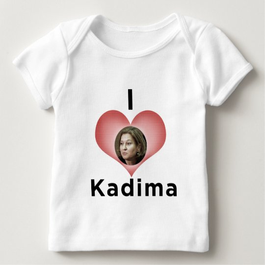 """ I Love Kadima "" Baby T-Shirt"