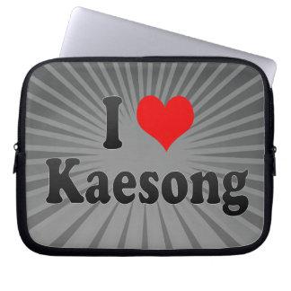 I Love Kaesong, Korea Computer Sleeve