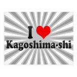 I Love Kagoshima-shi, Japan Postcard
