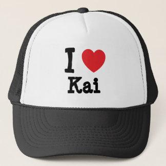 I love Kai heart T-Shirt Trucker Hat