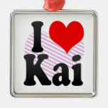 I love Kai Ornament