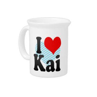 I love Kai Beverage Pitcher