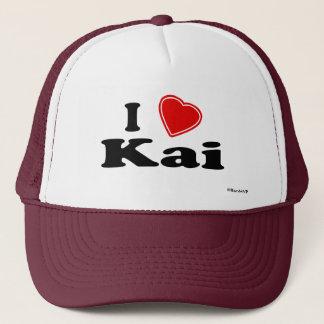 I Love Kai Trucker Hat