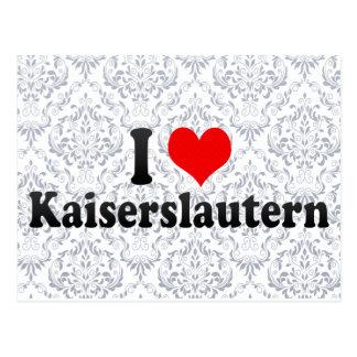 I Love Kaiserslautern, Germany Postcard