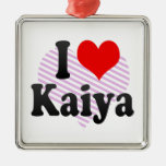 I love Kaiya Christmas Tree Ornament