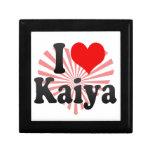 I love Kaiya Jewelry Boxes