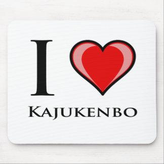 I Love Kajukenbo Mousepads