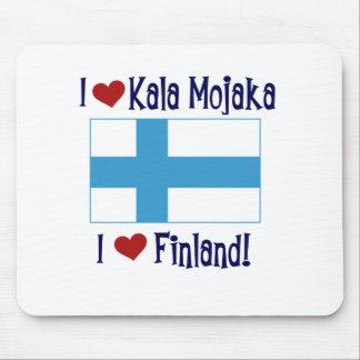 I Love Kala Mojaka I Love Finland Mouse Pad