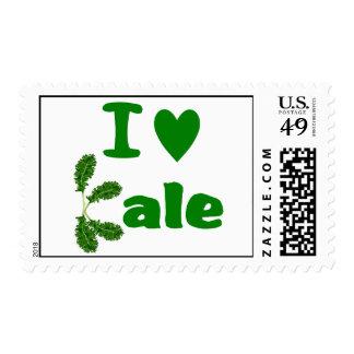 I Love Kale (I Heart Kale) Vegetable/Gardener Postage