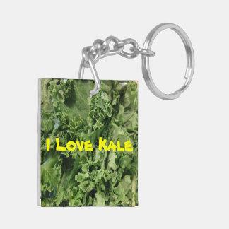 I Love Kale Keychain