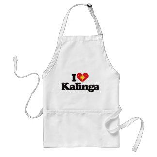I Love Kalinga Adult Apron
