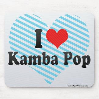 I Love Kamba Pop Mousepads