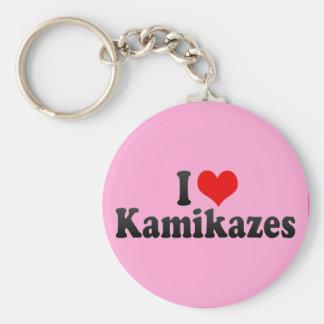 I Love Kamikazes Key Chains
