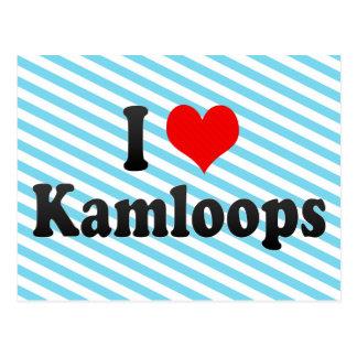 I Love Kamloops, Canada. I Love Kamloops, Canada Postcard