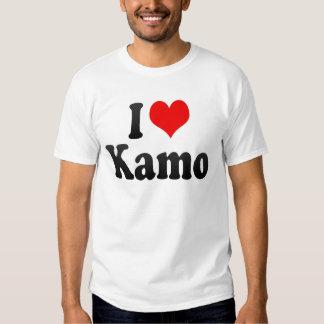 I Love Kamo, Japan. Aisuru Kamo, Japan Tee Shirt