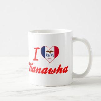 I Love Kanawha, Iowa Classic White Coffee Mug