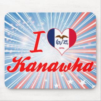 I Love Kanawha, Iowa Mouse Pad