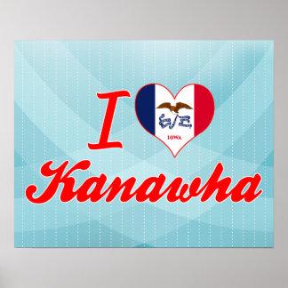I Love Kanawha Iowa Posters