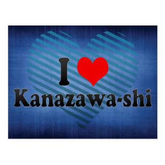 I Love Kanazawa-shi, Japan Postcards