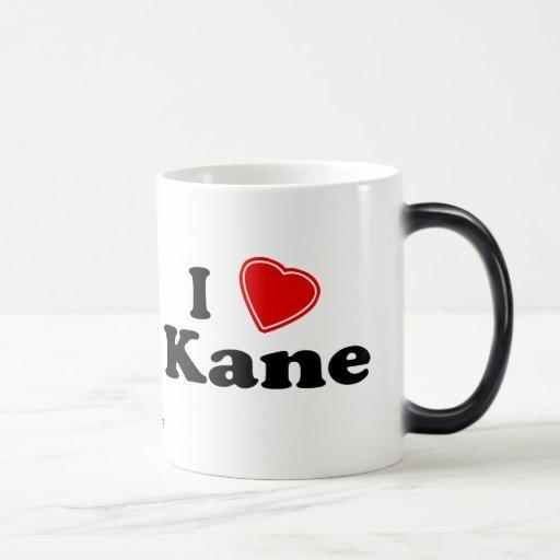 I Love Kane 11 Oz Magic Heat Color-Changing Coffee Mug