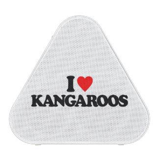 I LOVE KANGAROOS BLUETOOTH SPEAKER