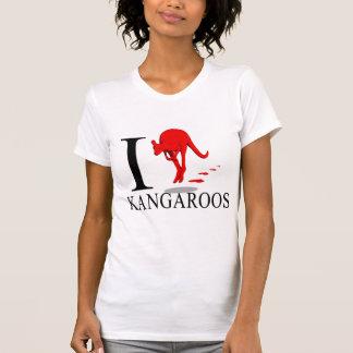 I Love Kangaroos  T-shirts