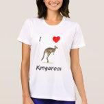 I Love Kangaroos Tees