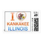 I Love Kankakee, IL Postage