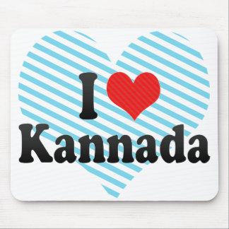 I Love Kannada Mouse Pad